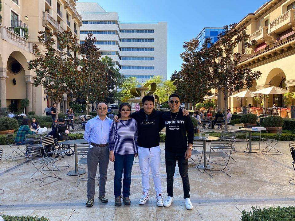 Kevin Zhang and Family Image